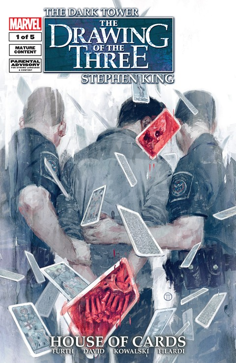 Dark Tower – The Drawing Of Three House Of Cards #1 (2015)