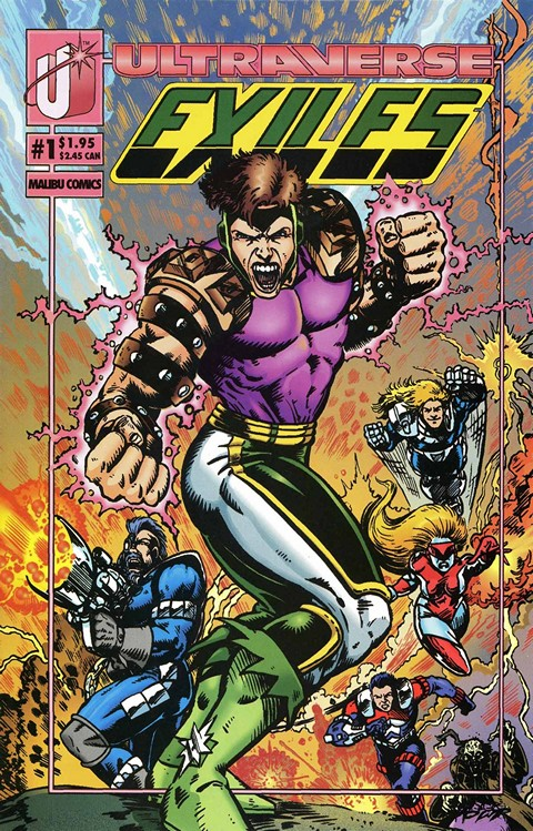 Exiles #1 – 4 Free Download