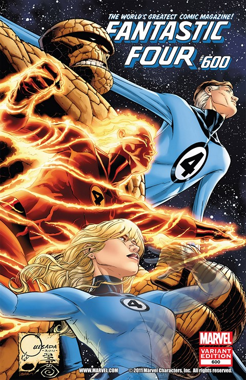 Fantastic Four #600 – 611 Free Download