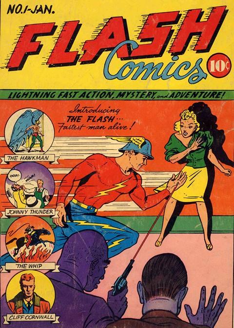 Flash Comics #1 – 104 (1940-1949)