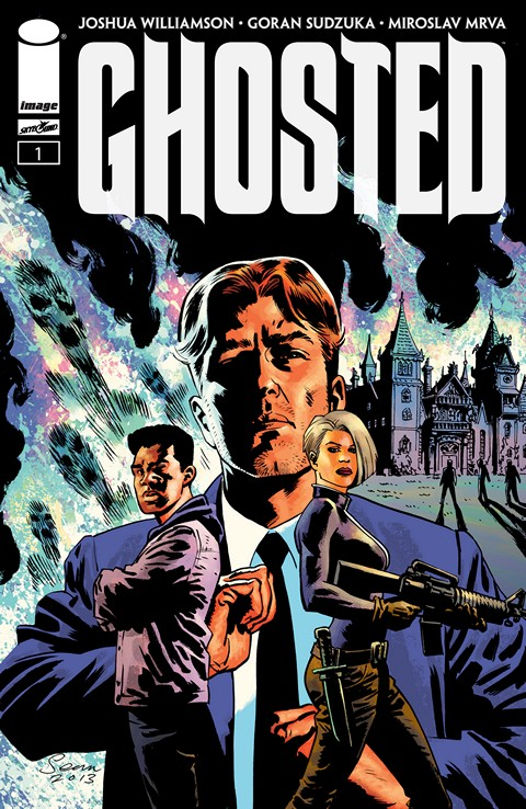 Ghosted #1 – 20 + TPB Vol. 1 – 4 (2013-2015)