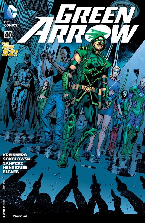 Green Arrow #40 Free Download
