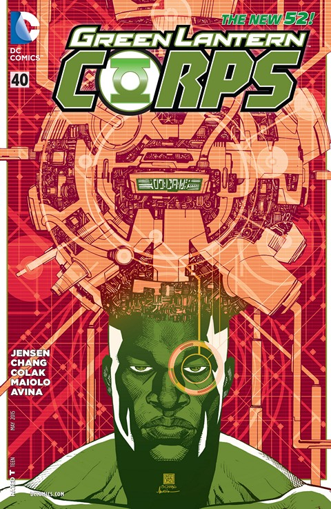Green Lantern Corps #40 Free Download