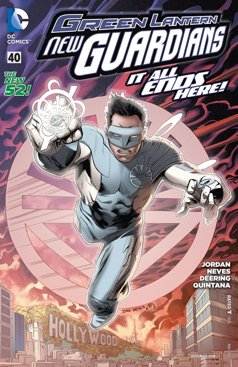 Green Lantern – New Guardians #40 Free Download