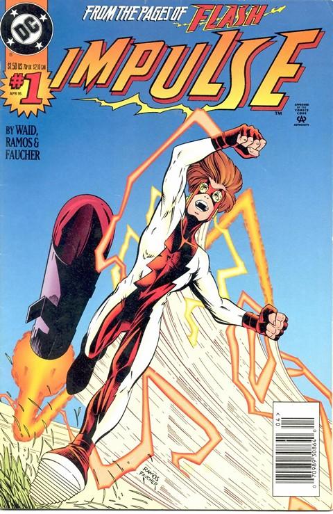 Impulse #1 – 89 + Annual (1995-2002)