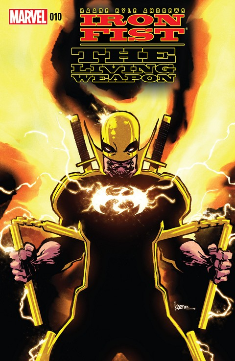 Iron Fist – The Living Weapon #10 Free Download