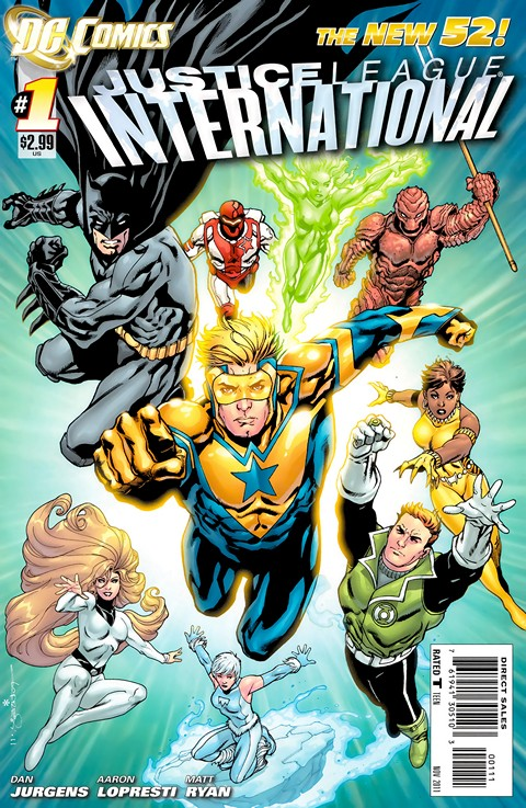 Justice League International #1 – 12 Free Download