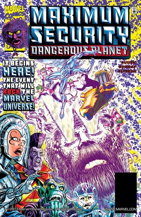 Maximum Security – Dangerous Planet #1 (2000)