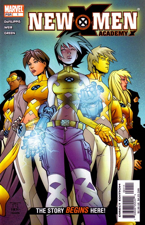New X-Men – Academy X #1 – 19 + Yearbook Special Free Download