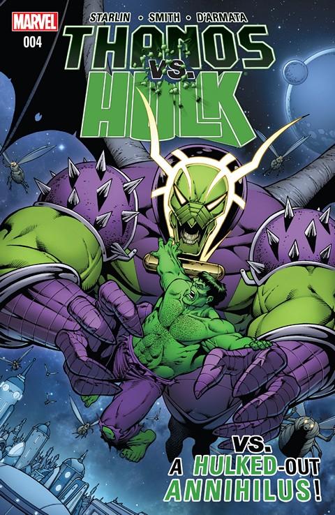 Thanos vs. Hulk #4 Free Download