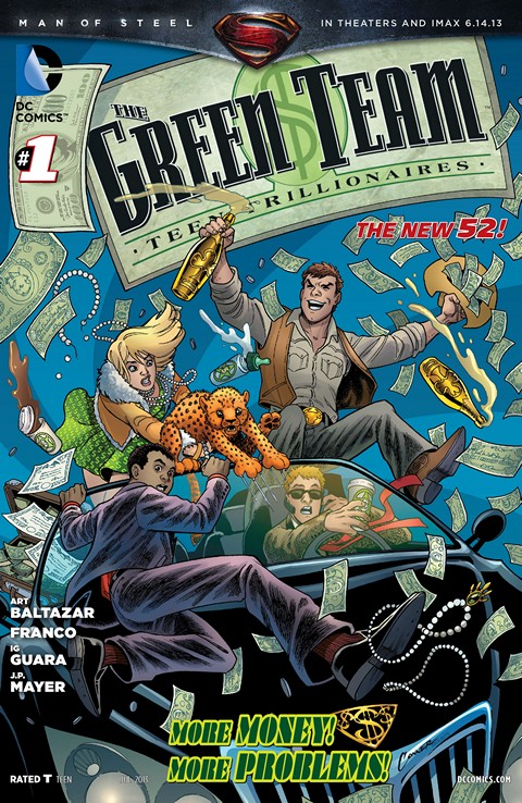 The Green Team – Teen Trillionaires #1 – 8 Free Download