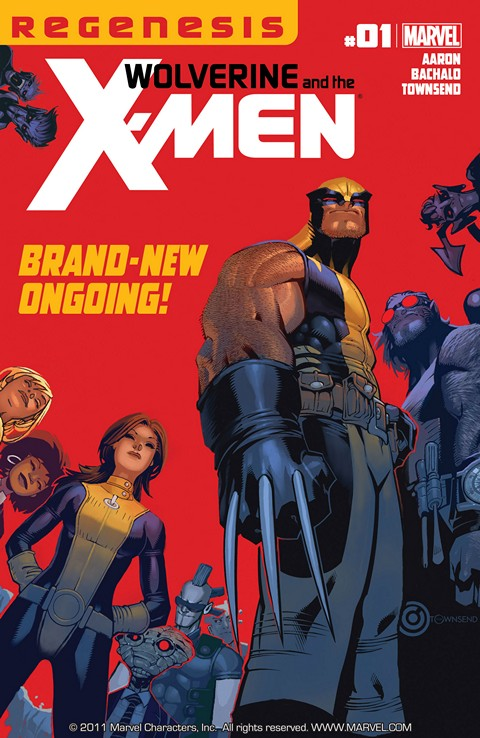 Wolverine And The X-Men v1 #1 – 42 + Annual Free Download