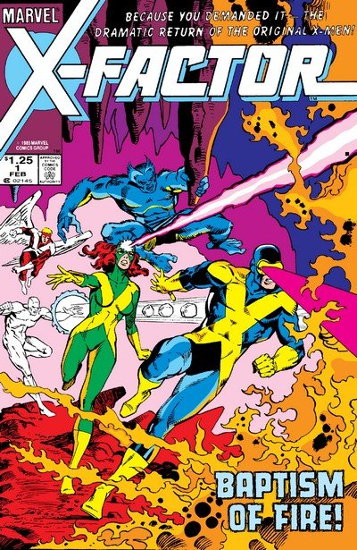 X-Factor Vol. 1 #1 – 149 + Annuals (1986-1998)