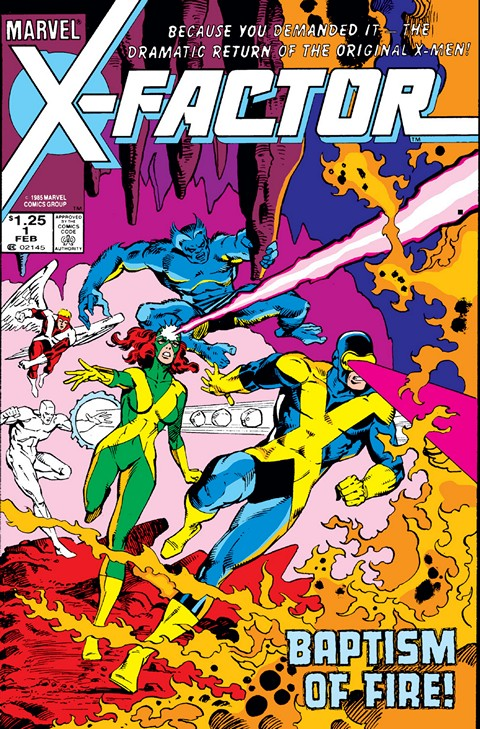 X-Factor v1 #1 – 149 Free Download