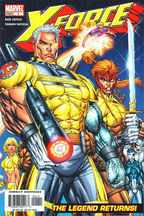 X-Force v2 #1 – 6 + Shatterstar Free Download