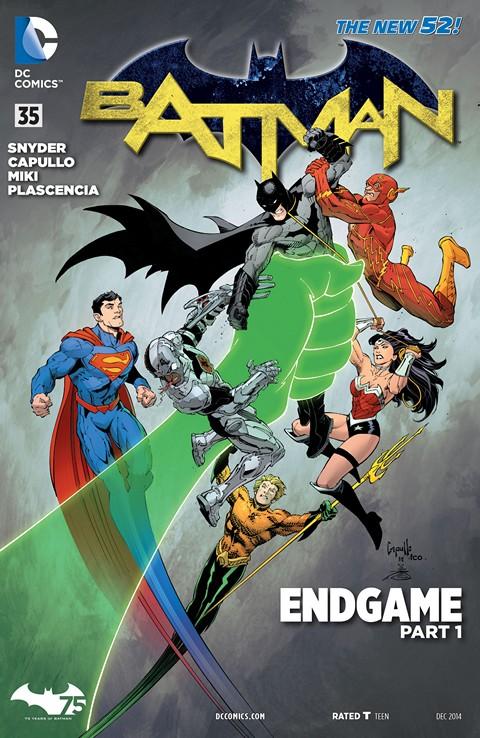 Batman – Endgame (Story Arc #1 – 11) (2015)