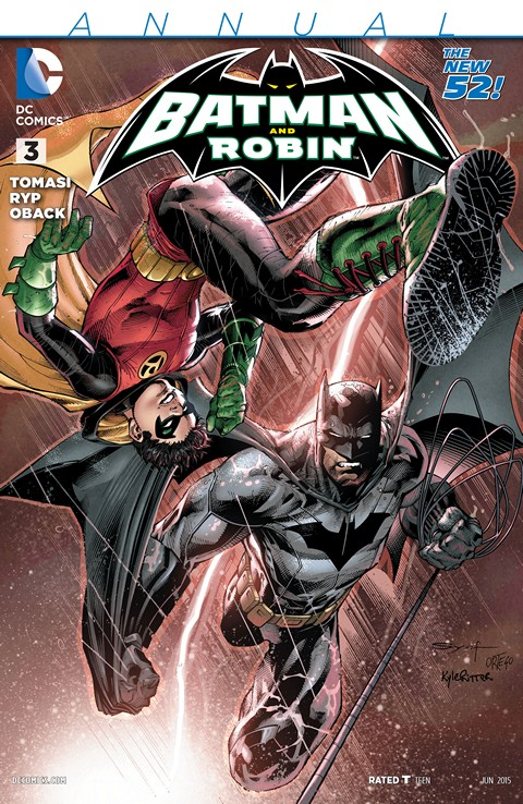 Batman and Robin Annual #3 Free Download