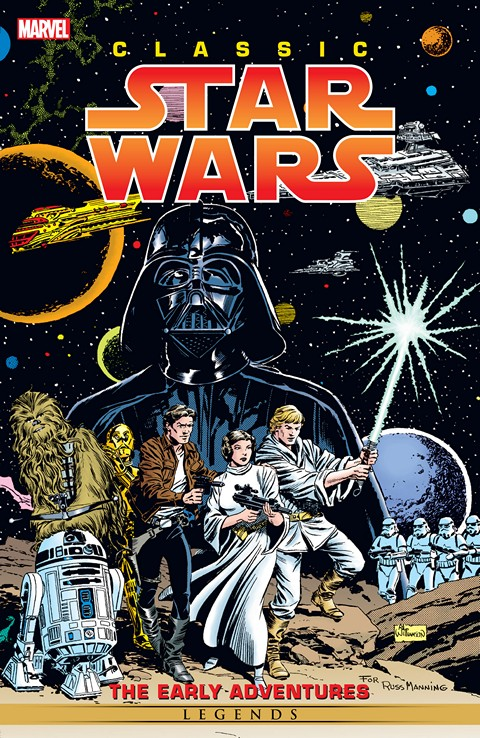 Classic Star Wars – Early Adventures (Marvel Edition)
