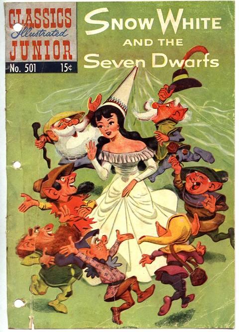 Classics Illustrated Junior #501 – 577