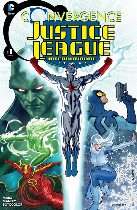 Convergence – Justice League International #1 Free Download