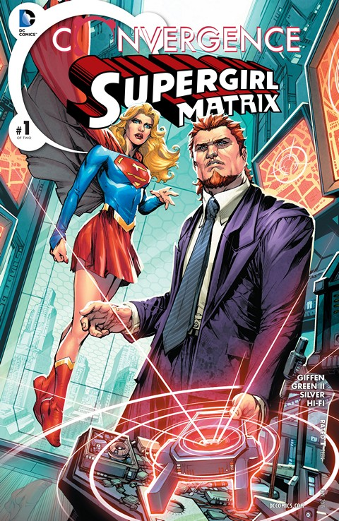 Convergence – Supergirl Matrix #1 Free Download