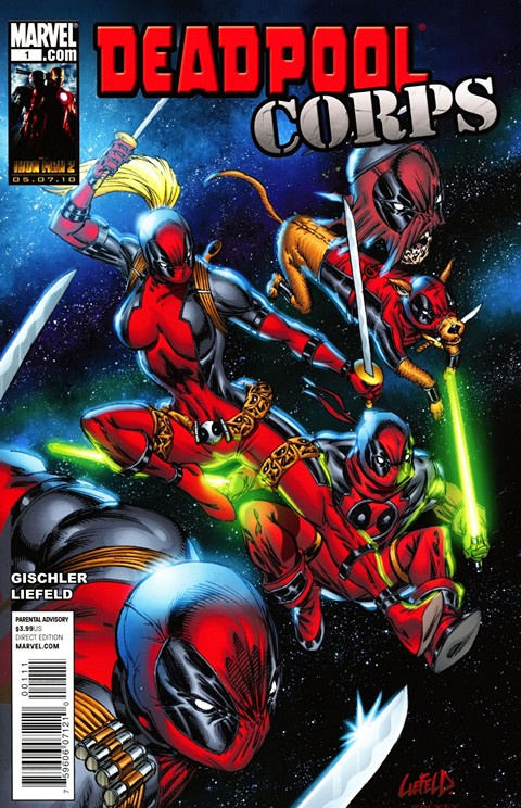 Deadpool Corps #1 – 12 + Prelude