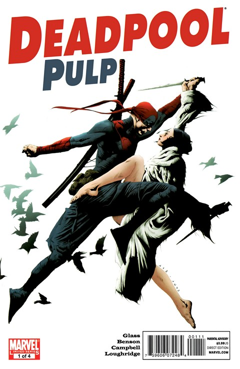 Deadpool Pulp #1 – 4 + TPB (2010-2011)