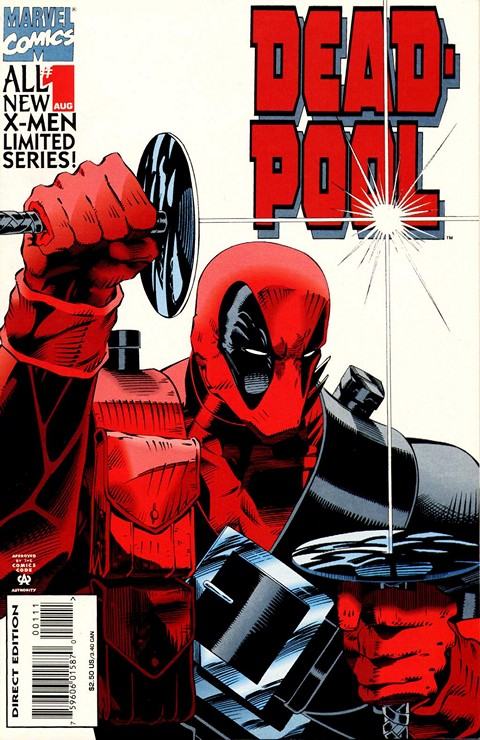 Deadpool – Sins Of The Past #1 – 4 (1994)