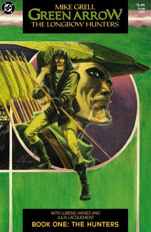 Green Arrow – The Longbow Hunters #1 – 3 (1987)