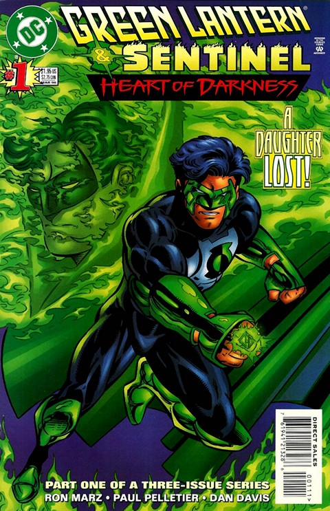 Green Lantern – Sentinel – Heart of Darkness #1 – 3 Free Download