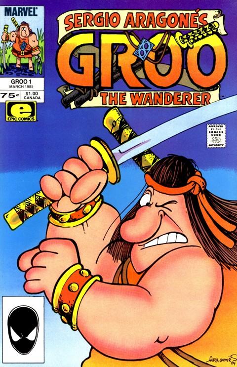 Groo the Wanderer #1 – 120 (1985-1995)