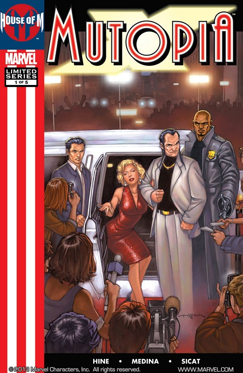 House of M – Mutopia X #1 – 5 Free Download