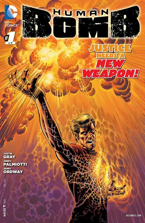 Human Bomb #1 – 4 (2013)