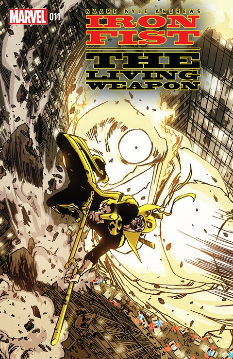 Iron Fist – The Living Weapon #11 Free Download