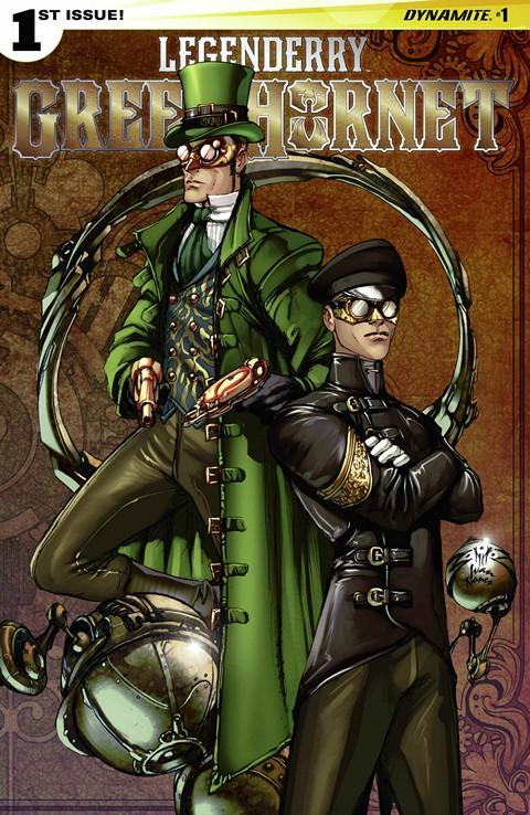 Legenderry Green Hornet #1 – 2 Free Download