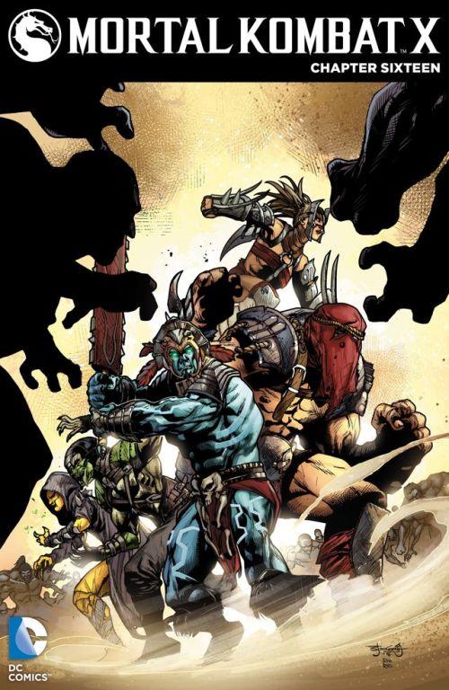 Mortal Kombat X #16