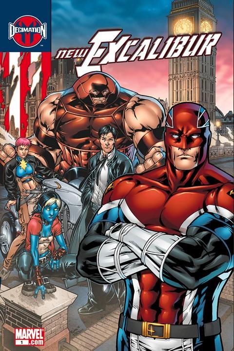 New Excalibur #1 – 24 (2006-2007)