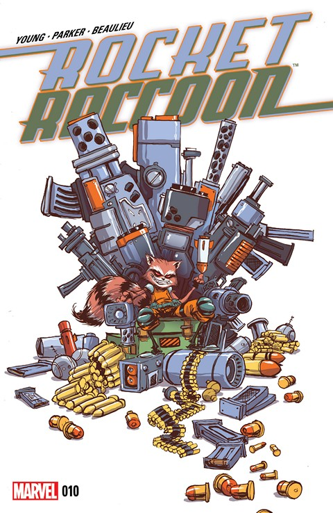 Rocket Raccoon #10 Free Download