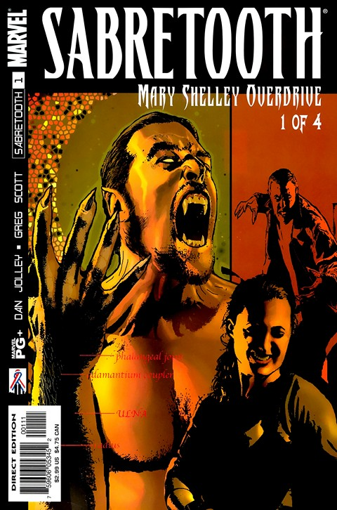 Sabretooth – Mary Shelley Overdrive #1 – 4 Free Download