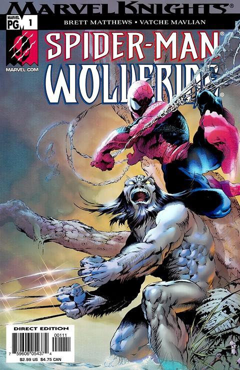 Spider-Man & Wolverine #1 – 4