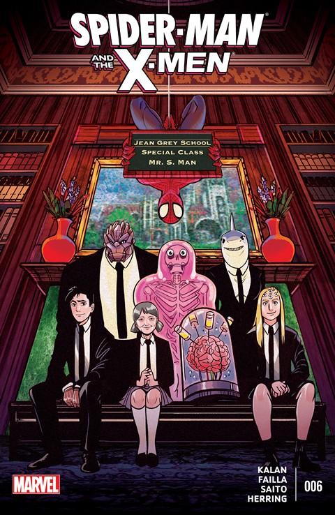 Spider-Man & the X-Men #6