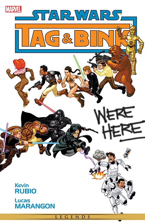 Star Wars – Tag & Bink Were Here (Marvel Edition)