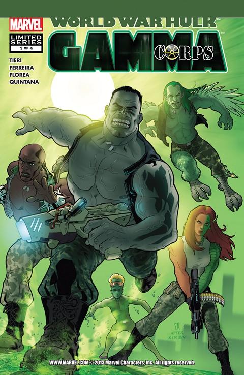 World War Hulks – Gamma Corps #1 – 4 Free Download