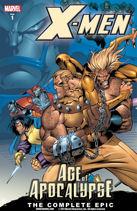 X-Men: Age of Apocalypse – The Complete Epic Vol. 1 – 4