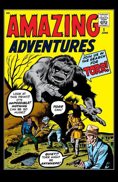 Amazing Adventures Vol. 1 #1- 6 + Amazing Adult Fantasy #7-14 + Amazing Fantasy #15-18 (1961-1995)
