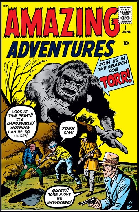 Amazing Adventures Vol. 1 #1-6 + Amazing Adult Fantasy #7-14 + Amazing Fantasy #15-18