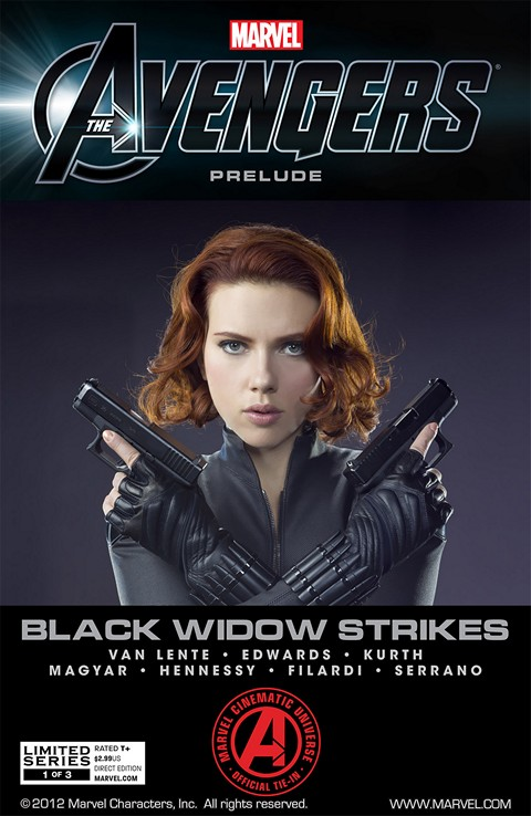 Avengers – Black Widow Strikes #1 – 3
