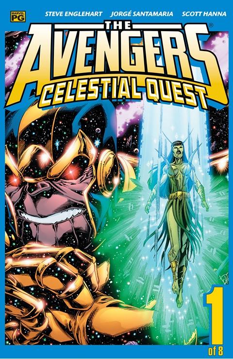 Avengers – Celestial Quest #1 – 8