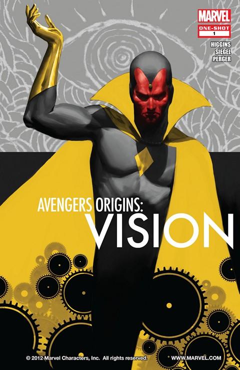 Avengers Origins – Vision #1