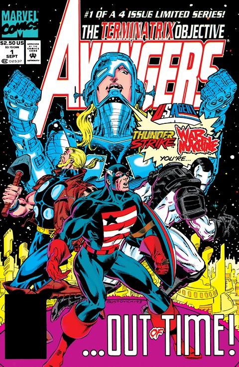 Avengers – The Terminatrix Objective #1 – 4 (1993)